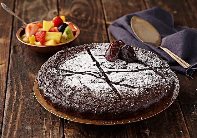 sund dadelkage, opskrift sund kage, opskrift sund dadelkage